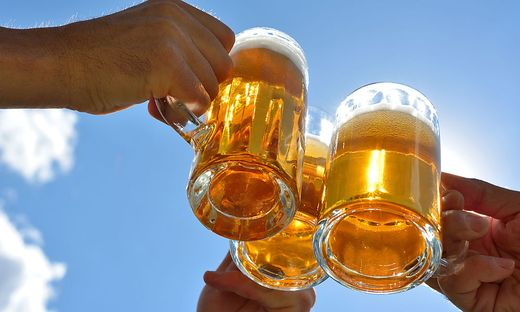 Bei der illegalen Party floss reichlich Alkohol