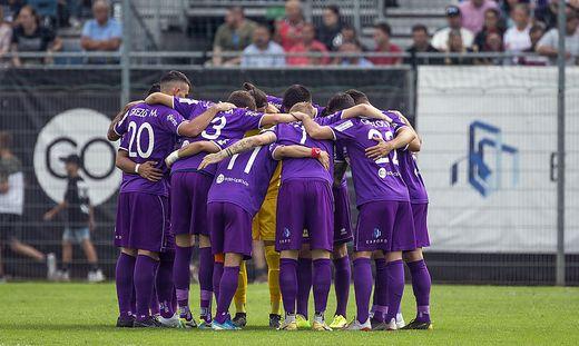 Austria Klagenfurt ist ein eingespieltes Team
