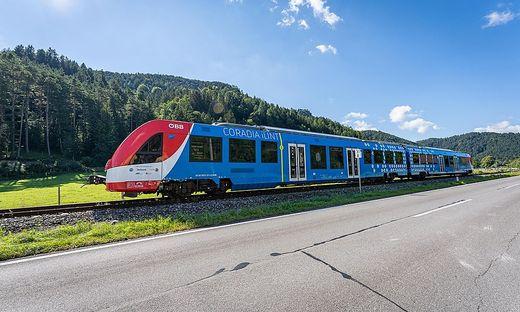 """Der """"Coradia iLint"""" von Alstom"""