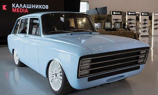 Der CV-1, ein E-Auto von Kalaschnikow