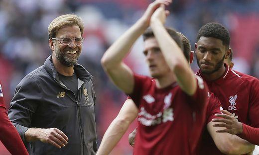 Liverpool-Trainer Jürgen Klopp hat allen Grund zur Freude