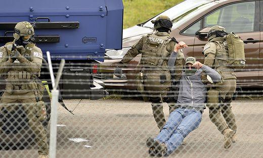 ANTI-TERROR-UeBUNG 'POLARIS'