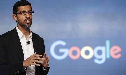 Google-Chef Sundar Pichai