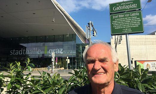 Manfred Koch, Gadollaplatz in Graz