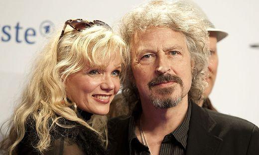 Wolfgang Niedecken mit seiner Frau Tina