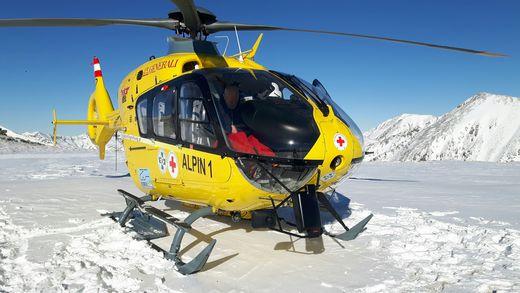 Der Rettunngshubschrauber Alpin 1 brachte den 47-Jährigen ins Klinikum Klagenfurt