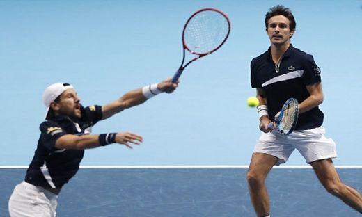 Jürgen Melzer und Edouard Roger-Vasselin  verlieren die AUftakt-Patie bei den ATP Finals