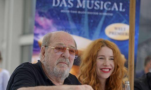 20.09.2020, Fuessen im Allgaeu, Pressetag beim Musical Zeppelin im Musicalhaus-Fuessen. Erste Einblicke fuer Medien auf der