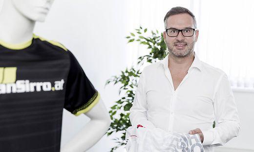 Der Südsteirer Hannes Steiner will mit seinem Start-up sanSirro den Markt für smarte Bekleidung revolutionieren