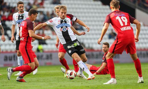 Lukas Grozurek spielt heute gegen seinen Ex-Klub