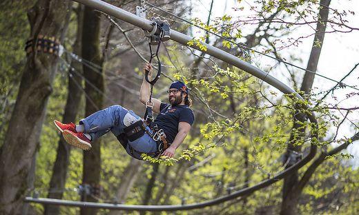 Ein Besuch des Kletterwalds in Ossiach würde sich zum Beispiel anbieten