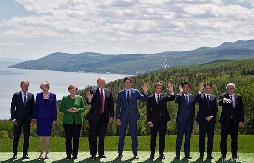 Europäer vor G7-Gipfel auf Konfrontationskurs zu Trump