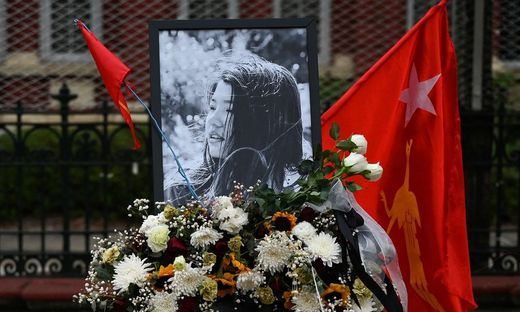 Tiefe Trauer und Bestürzung wegen des Tods der 20-jährigen Mya Thwate Thwate Khaing
