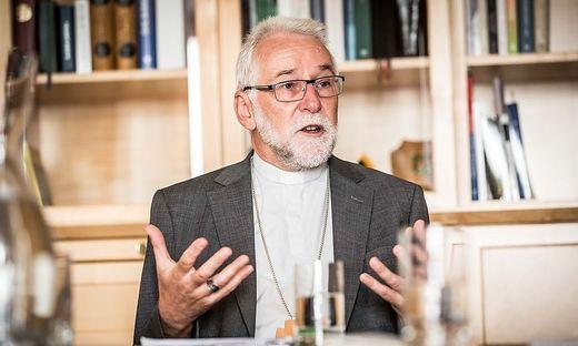 """""""Segnen heißt, ein gutes Wort sagen"""", so Bischof Josef Marketz"""