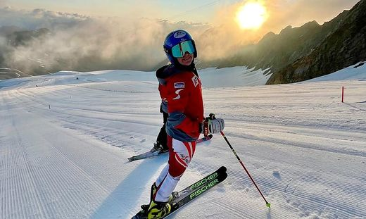 Kärntens Slalom-Ass Katharina Truppe ist wieder zurück auf Schnee