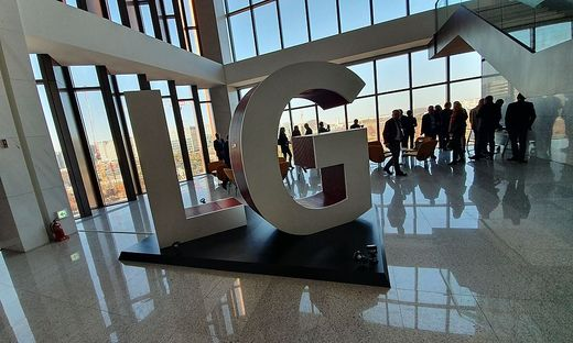 LG beeindruckt mit Präsentationen von Innovationen