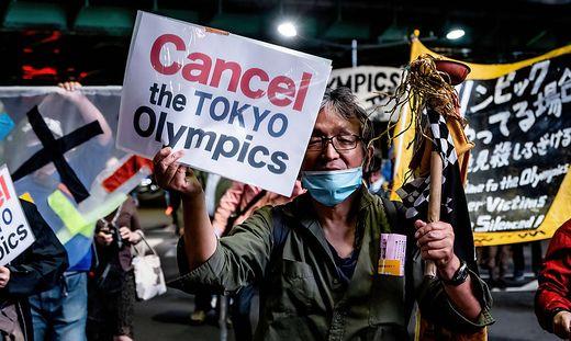 Gegen die Olympischen Spiele wird permanent protestiert