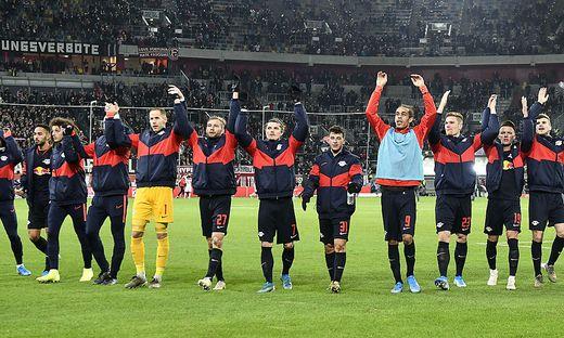 RB Leipzig übernahm die Tabellenführung