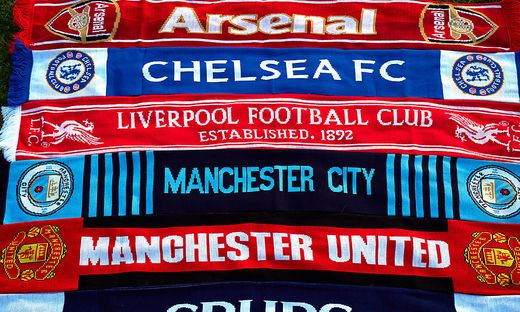 European Super League File Photos File photo dated 19-04-2021 of a selection of of Arsenal, Chelsea, Liverpool, Manchest