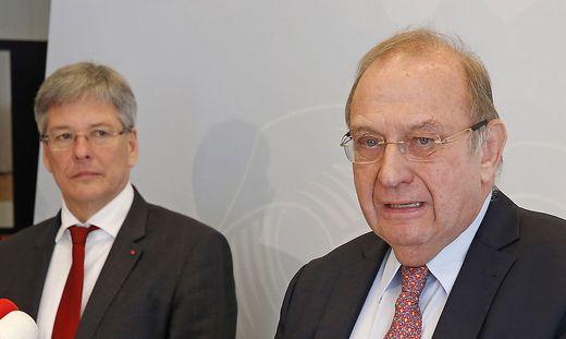 Peter Kaiser (links) und Bernd-Christian Funk