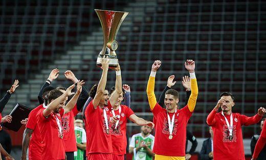 SOCCER - UNIQA OEFB Cup final, RBS vs Lustenau
