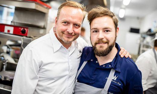 Kärntens bestes Duo: Hubert Wallner mit Souschef Marco Gatterer