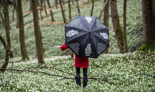 Am Dienstag muss mit Regen gerechnet werden