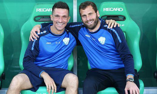 Danijel Zenkovic und Jürgen Säumel