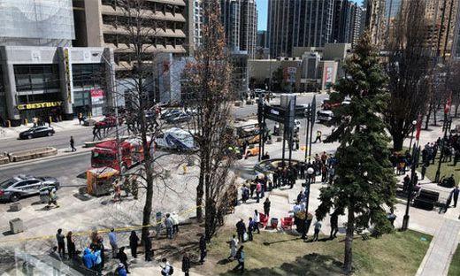 Polizei: Todesfahrt in Toronto war vorsätzlich