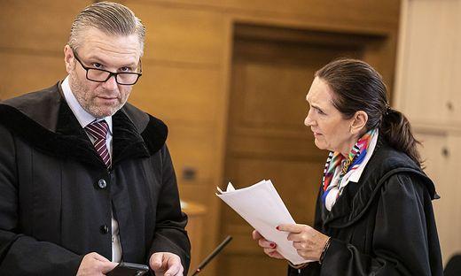Mordprozess Badewannenmord Feffernitz Landesgericht Klagenfurt Juni 2020