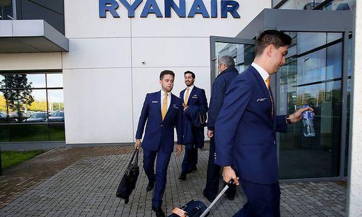 Eine bessere Bezahlung fordern die Piloten der Ryanair