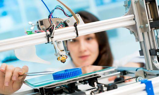 Sujetbild: Menschliche Haut aus 3D-Drucker soll Tierversuche vermeiden
