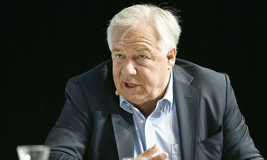 Wolfgang Fellner, polternder Außenseiter der Medienbranche