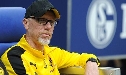 SOCCER - 1.DFL, Schalke vs Dortmund