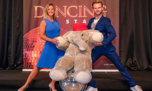 ?Dancing Stars?: Michi Kirchgasser trifft erstmals ihren neuen Tanzpartner Vadim Garbuzov