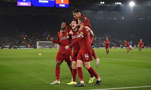 Leicester City, Liverpool 0:4