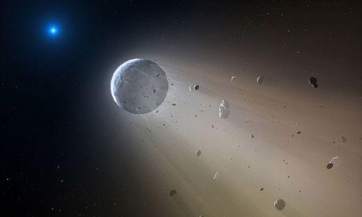 Bedrohlicher Asteroid