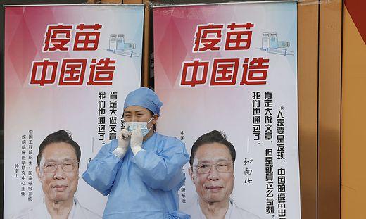 Ziel Pekings ist die vollständige Immunisierung von 40 Prozent der 1,4 Milliarden Einwohner Chinas bis kommenden Juni