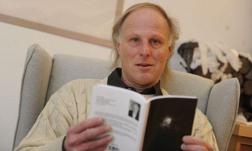 Schriftsteller Heinz Kröpfl arbeitet an einem neuen Roman