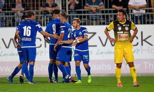 SOCCER - 2. Liga, Horn vs Kapfenberg