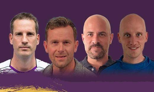 Schreiber, Höller, Bauer und Töffel sind neu im Team