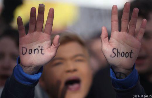 Marsch für unser Leben: Hunderttausende protestieren in Washington gegen Waffengewalt