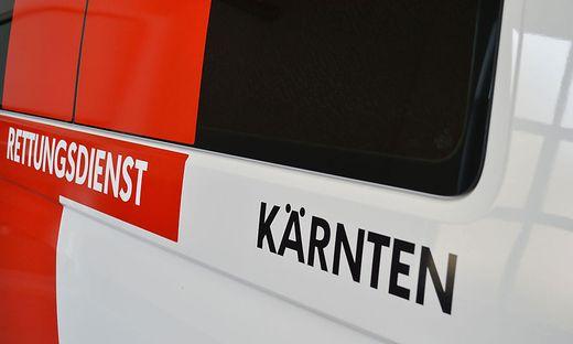 Die Rettung brachte den Verletzten ins LKH Wolfsberg