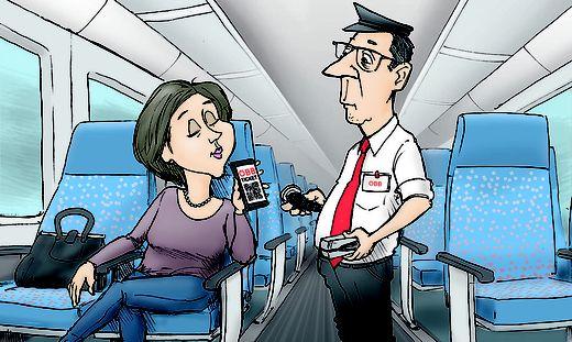 Wenn das Handy-Ticket einmal entwertet wurde, darf es nicht mehr storniert werden!