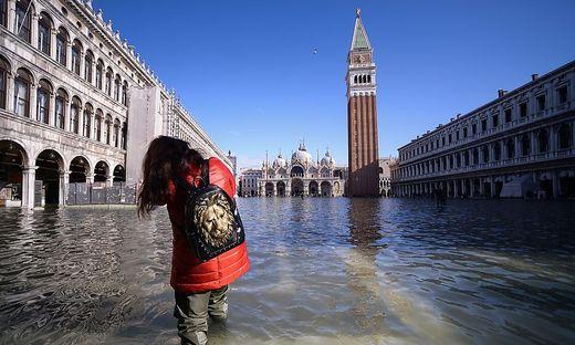 ITALY-WEATHER-VENICE