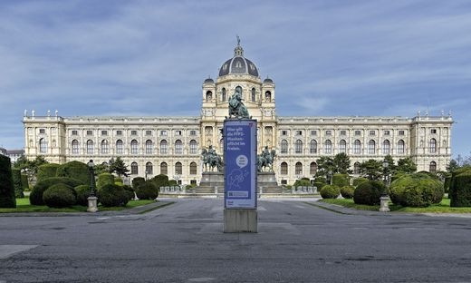 Das Naturhistorische Museum Wien sperrt am 3. Mai auf