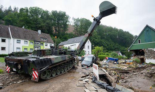 Die Bundeswehr ist in Hagen im Einsatz, und auch Bruck startet eine Hilfsaktion