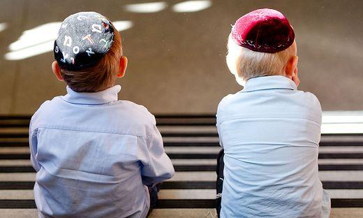Junge Talmudschueler
