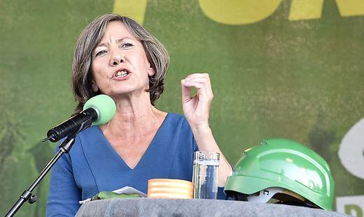 Die grüne Spitzenkandidatin Birgit Hebein