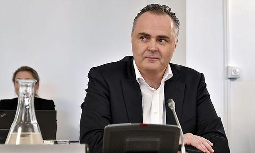 Hans Peter Doskozil im U-Ausschuss
